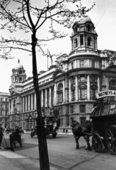 Whitehall in London  c 1910s.