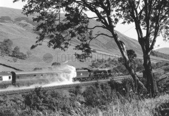 'Royal Scot'  steam locomotive  c 1950s.