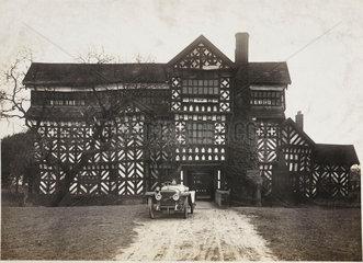 Hispano-Suiza motor car  Little Moreton Hall  Cheshire  c 1912.