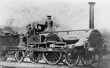 London and South Western Railway 2-2-2 stea
