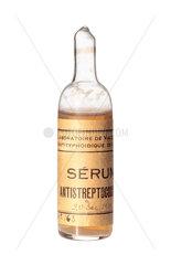 Ampoule of streptococcus serum  1919.