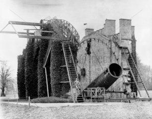 The Earl of Rosse's six foot refracting Newtonian telescope  1880.