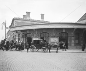 North Wall station  Dublin  c 1906.