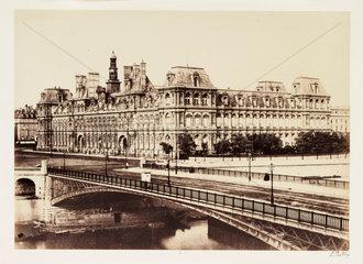 'Hotel de Ville'  Paris  c 1865.