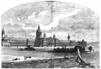 Royal Victoria Hospital  Netley  Southampton  1859.