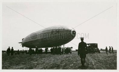 R 34 airship  c 1919.