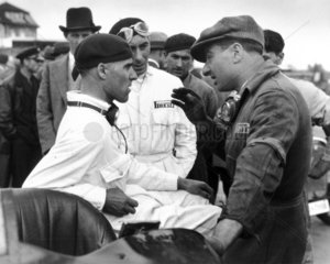 Tazio Nuvolari and Eugenio Siena  Berlin  1933.