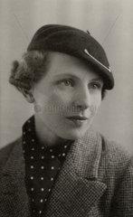 Stylish Frenchwoman  18 February 1935.