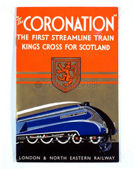 'The Coronation'  LNER poster  1937-1939.