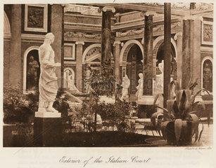 Italian Court  the Crystal Palace  Sydenham  London  1911.