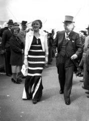 Fashions at the Royal Ascot Races  Berkshire  15 June 1938.