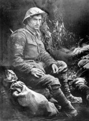 Private Joseph Bailey  Battle of the Somme  1916.