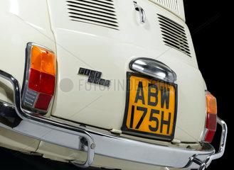 Fiat 500 car  1970.