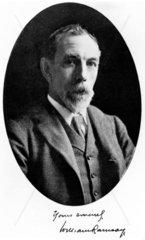Sir William Ramsay  Scottish chemist  c 1905.