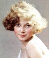 Portrait of a blonde  1932.
