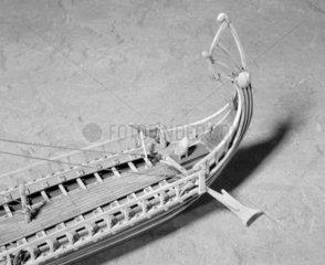 Greek Trireme  c 4th Century BC. Model.