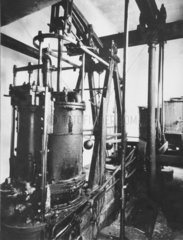Boulton and Watt 6 hp rotative beam engine at Holyhead Docks  1827.