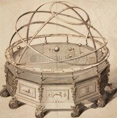 'Grand Orrery by Thomas Wright'  London  1715-1728.