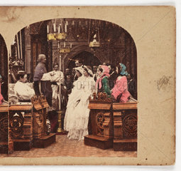 A Marriage  c 1875 .