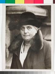 Eleanor Rathbone  British MP  1931.
