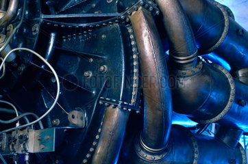 Gloster-Whittle E 28/39 jet aircaft engine  1941-1944.