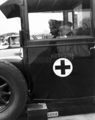 Ambulance  Nurburgring  1930s.