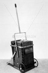 BVC hand-operated vacuum cleaner  c 1911.