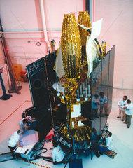 TDRSS satellite  1980s.