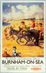 'For Leisure or Pleasure choose Burnham-on-