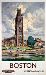 'Boston'  BR poster  1948-1965.