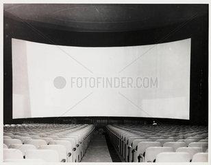 Cinerama screen  1952.