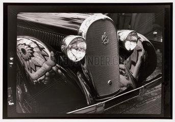 Hotchkiss car  Paris  1930s.