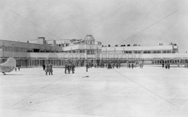 Antwerp airport  Belgium  4 May 1931. Photo