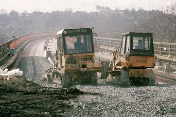 Laying ballast  1989.