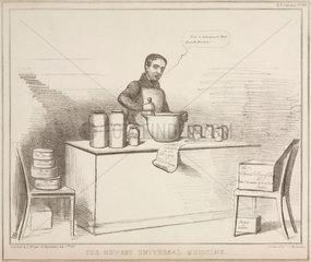 'The Newest Universal Medicine'  1830s.