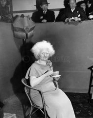 'The albino lady'  27 January 1938. This el