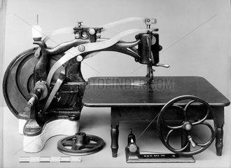 Thomas's lock stitch sewing machine  1853.