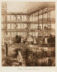 Osler's Crystal Fountain  the Crystal Palace  Sydenham  London  1911.