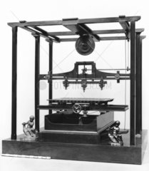 Jordan's wood carving machine  1845. Model
