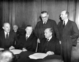 Ernest Bevin  Labour politician  29 January