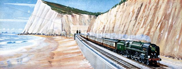 'Golden Arrow' Continental Express by Richa