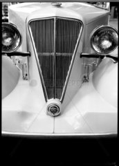 Front view of an Opel motor car  c 1934.