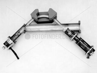 Mass spectrometer tube.