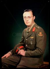 'Prince Bernhard of the Netherlands'  c 1944.