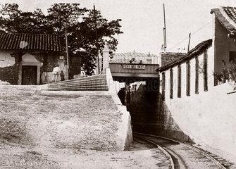 'Puente Emilio Pimentel'  a tunnel on the Tehuantepec Railway  Mexico  c 1905.