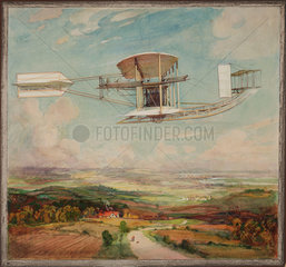 Moore-Brabazon No 5 aeroplane  1910.