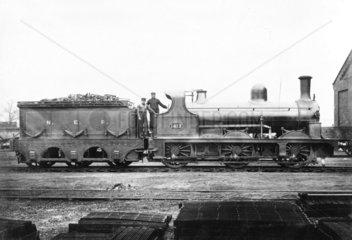 North Eastern Railway locomotive  c 1890