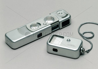 Minox camera with miniature light meter  c 1958.