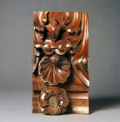 Carved wood  c 1890s.