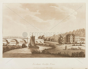 'Ensham-bridge  Oxon'  1799.